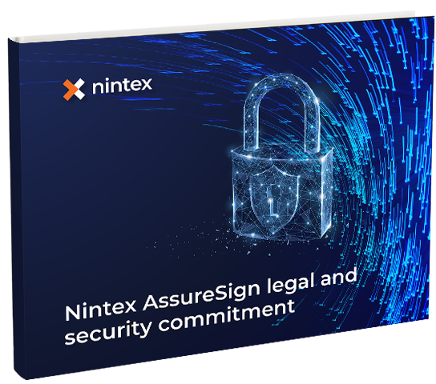 Nintex AssureSign cover